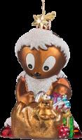Pittiplatsch Weihnachtsmann - Weihnachtsschmuck von Käthe Wohlfahrt