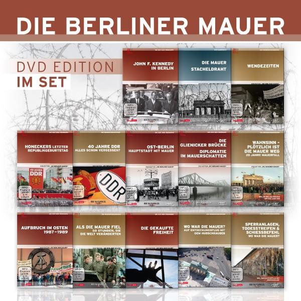 Die Berliner Mauer Edition (13er DVD-Set)