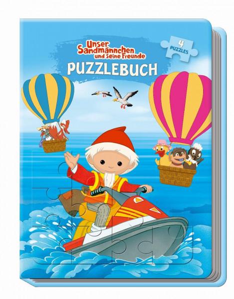 Unser Sandmännchen Puzzlebuch mit Glitzercover