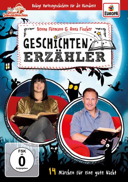 Geschichtenerzähler – 14 Märchen für eine gute Nacht mit Benno Fürmann und Anna Fischer (DVD)