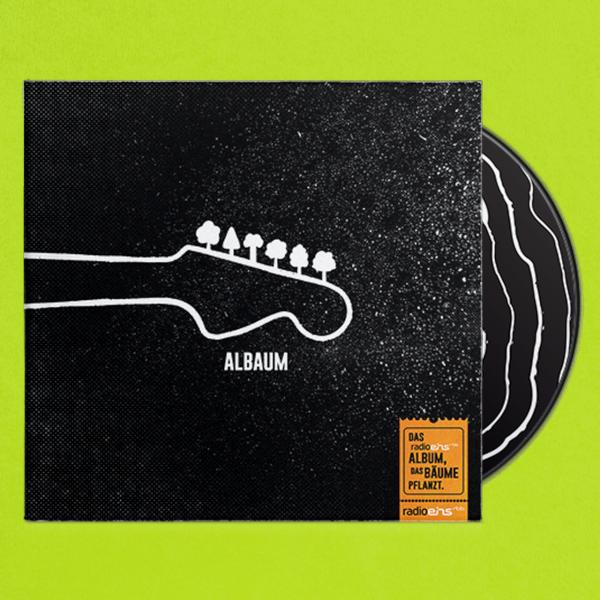 Baum-Bon für CD Albaum von radioeins - VÖ im März 2020