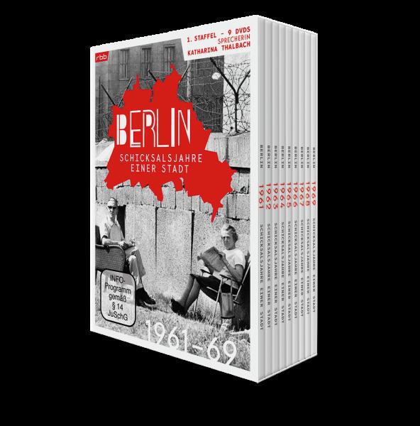 Berlin - Schicksalsjahre einer Stadt - komplette 1. Staffel im Schuber