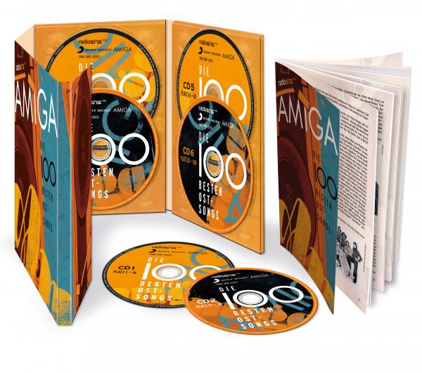 radioeins Die 100 besten Ostsongs auf 6 CDs und Ausführliches Booklet 2