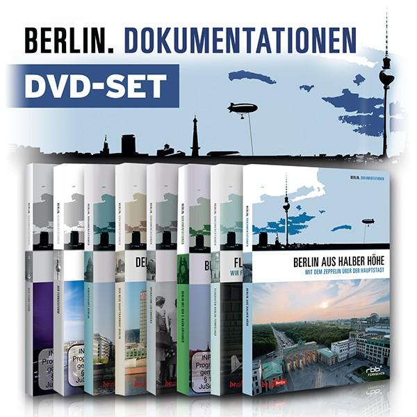 Das große Berlin Dokumentationen DVD-Set mit 9 DVDs