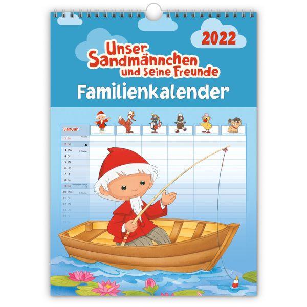 Unser Sandmännchen Familienkalender 2022