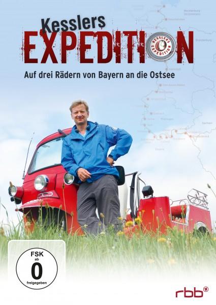 Kesslers Expedition - Auf drei Rädern von Bayern an die Ostsee DVD