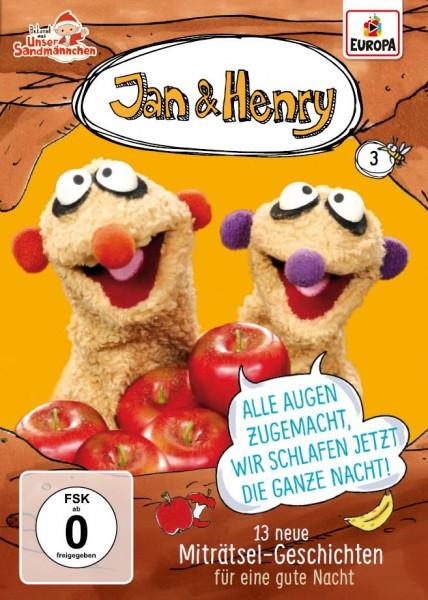 Jan & Henry Vol. 3 - 13 lustige Geschichten für eine gute Nacht (DVD)