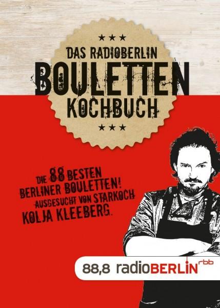 das radioBerlin Bouletten Kochbuch Cover