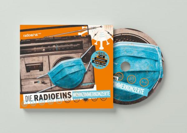 radioeins CD Wohnzimmerkonzerte
