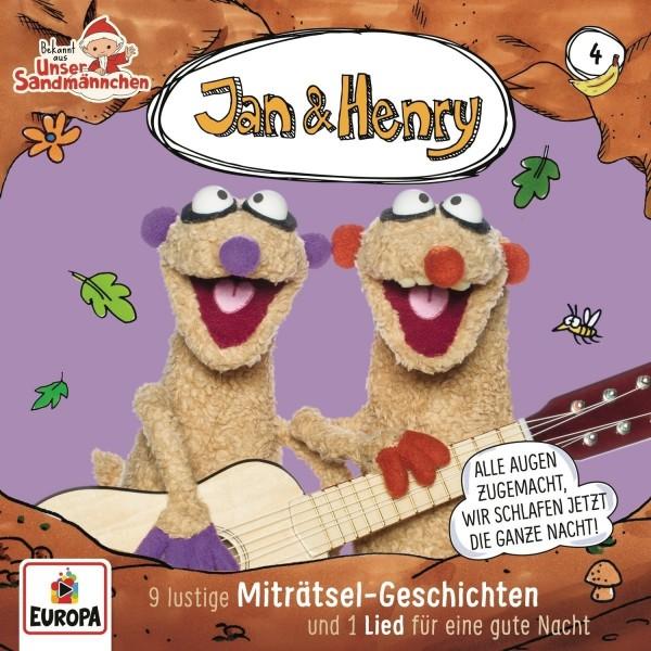 Jan & Henry CD Vol. 4 - 9 lustige Miträtsel-Geschichten und 1 Liede für eine gute Nacht