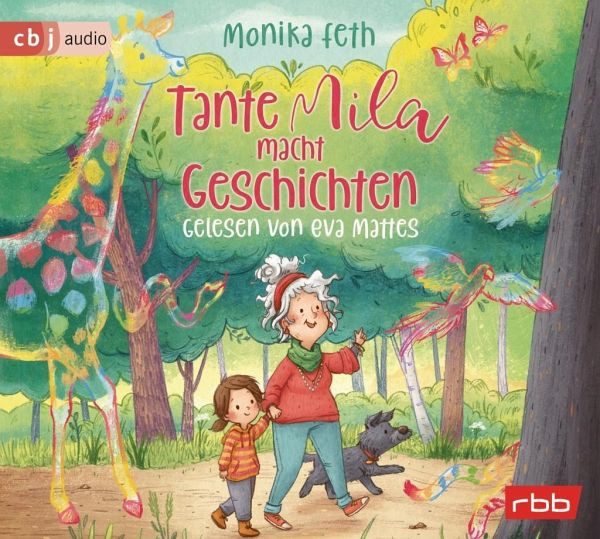Tante Mila macht Geschichten - Gelesen von Eva Mattes (CD)