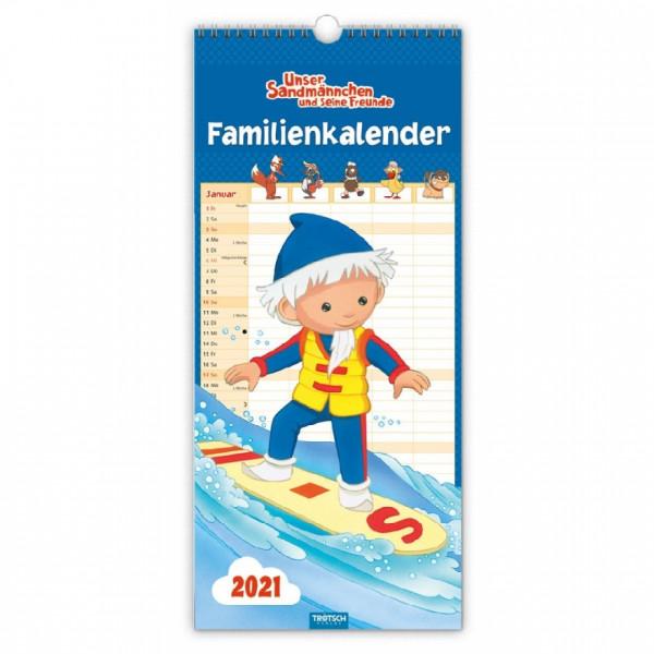 Unser Sandmännchen Familienkalender 2021