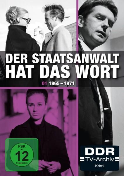 Der Staatsanwalt hat das Wort - Box 1 1965-1974 (3er DVD)