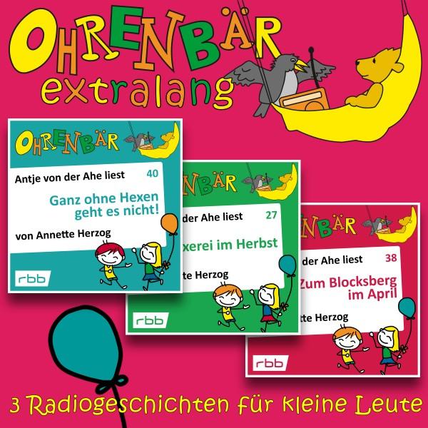 Ohrenbär extralang Hörbuch - Radiogeschichten von Hexe Zuckerguss - Download