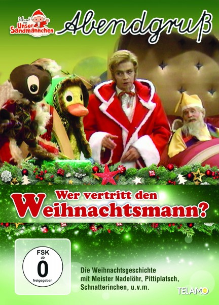 Unser Sandmännchen Abendgruß - Wer vertritt den Weihnachtsmann? DVD