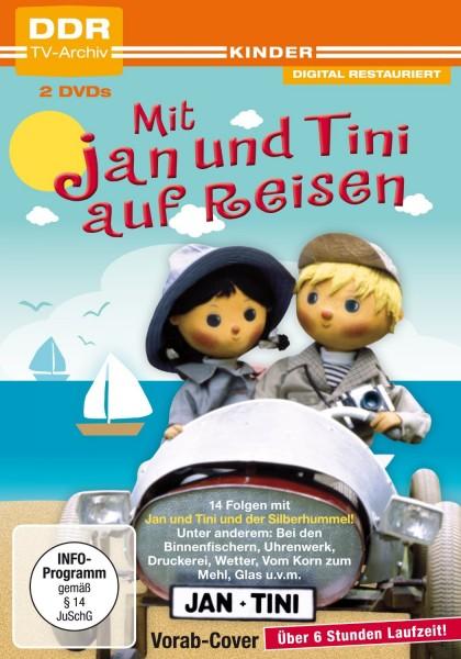 Mit Jan und Tini auf Reisen Box 3 (2 DVDs)