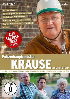 Polizeihauptmeister Krause - alle 5 Filme (5er DVD-Box)