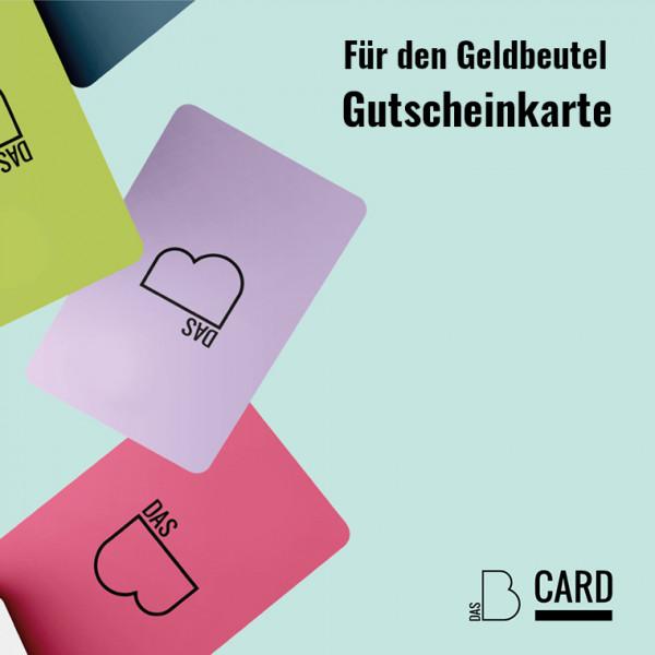 Das B-Card Wunschbetrag