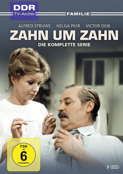 Zahn um Zahn - Die komplette Serie (9 DVD)