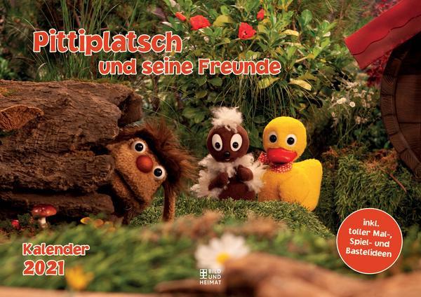 Pittiplatsch und seine Freunde Kalender 2021