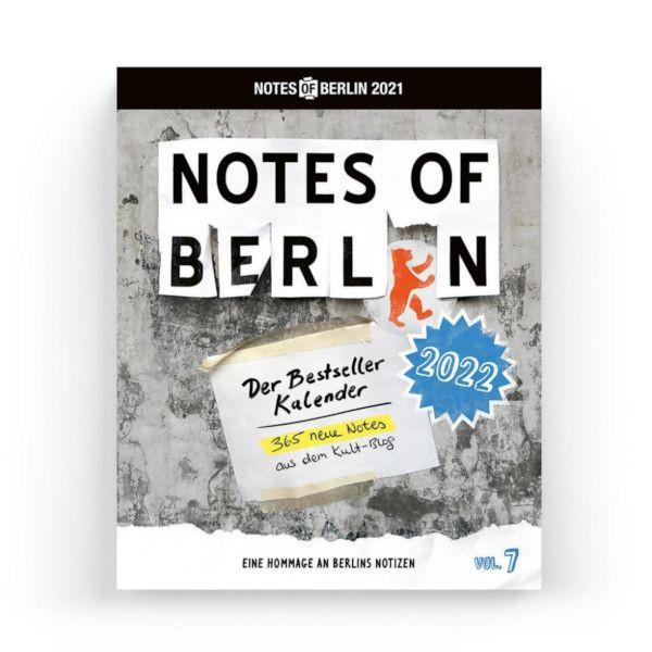 Notes of Berlin 2022 - Der Bestseller Kalender