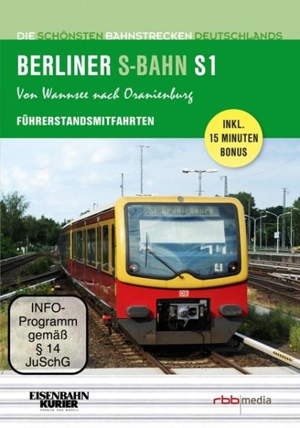 Führerstandsmitfahrten - Berliner S-Bahn S1 - Von Wannsee nach Oranienburg (DVD)