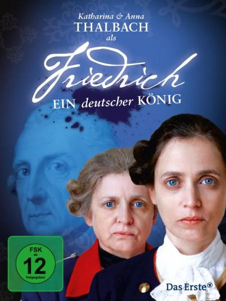 Friedrich - Ein deutscher König mit Katharina und Anna Thalbach (DVD)