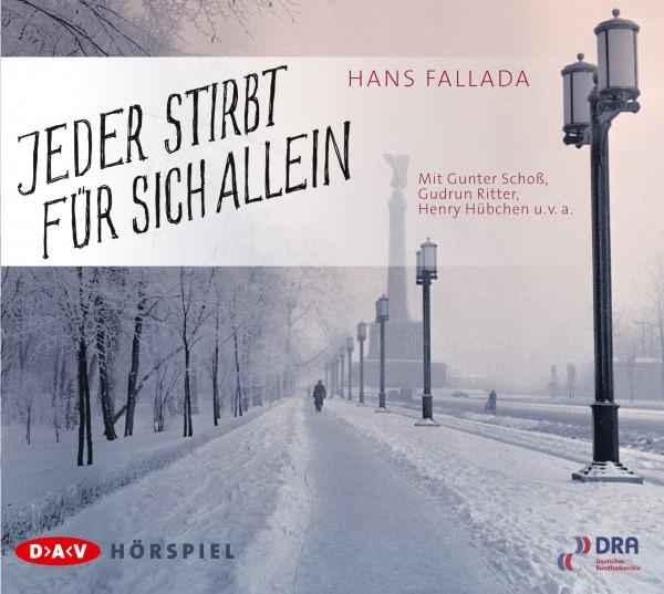 Hans Fallada - Jeder stirbt für sich allein von Hörspiel CD