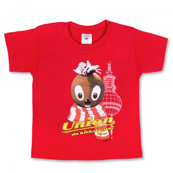 Pittiplatsch & 1. FC Union Berlin Kinder T-Shirt