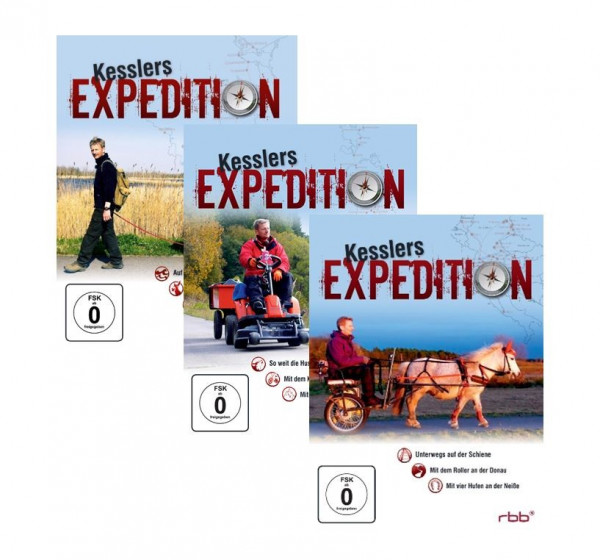 Kesslers Expeditionen im Paket 12 DVDs (Staffeln 1-9)