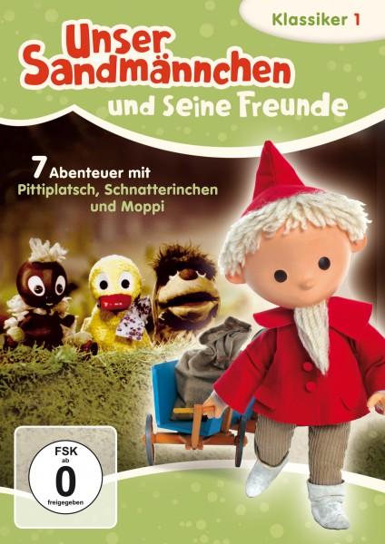 Sandmann DVD - Unser Sandmännchen Klassiker mit Pittiplatsch, Schnatterinchen und Moppi Cover