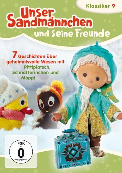 Sandmann DVD - Unser Sandmännchen Klassiker Teil 9 – Sieben Geschichten über geheimnisvolle Wesen mit Pittiplatsch, Schnatterinchen und Moppi