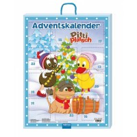Pittiplatsch Adventskalender mit 24 Mini-Büchern (Buch)