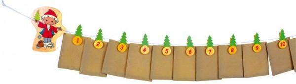 Unser Sandmännchen - Adventskalender zum Befüllen -