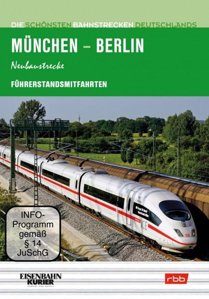 Führerstandsmitfahrt München-Berlin (4er DVD-Box)