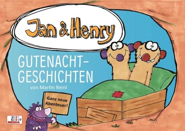 Jan & Henry - Gutenachtgeschichten (Buch)