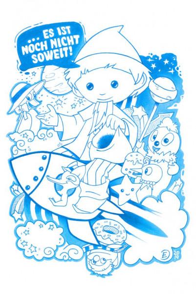 Sandmann, Pittiplatsch und Freunde Poster von Spreadshirt