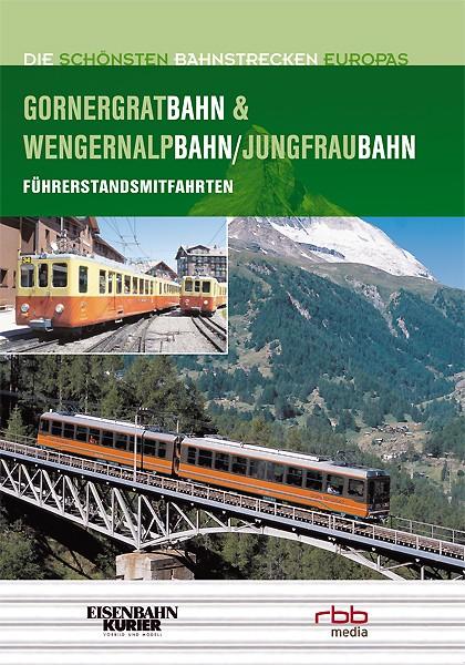 Die Gornergratbahn & Wengernalpbahn/Jungfraubahn DVD