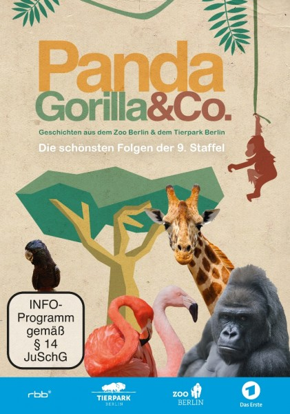 Panda, Gorilla & Co. – Die schönsten Folgen der 9. Staffel (DVD)