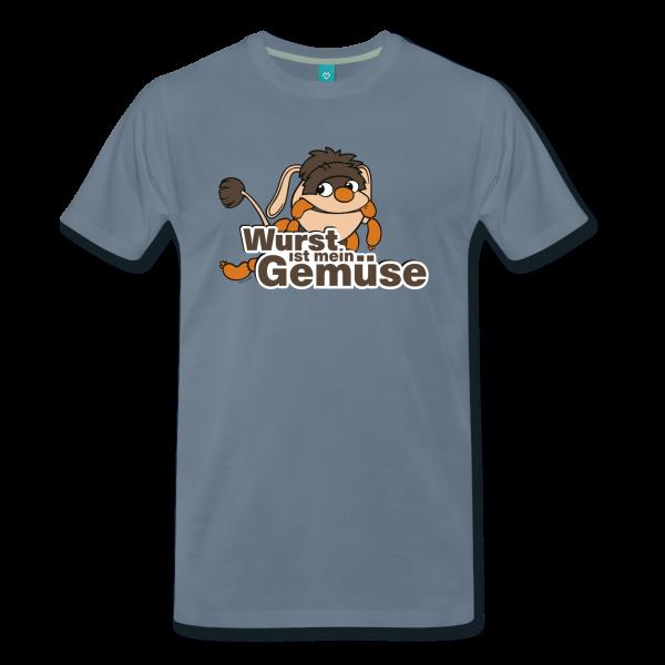 Moppi Wurst ist mein Gemüse Männer Premium T-Shirt von Spreadshirt