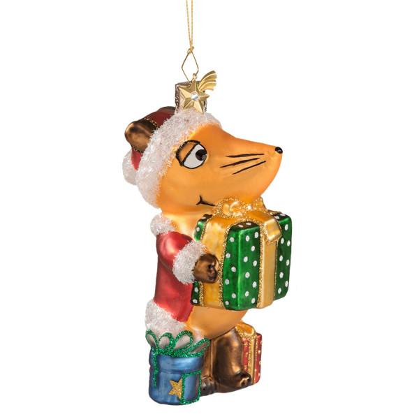 Die Maus als Weihnachtsmann - Weihnachtsschmuck Käthe Wohlfahrt