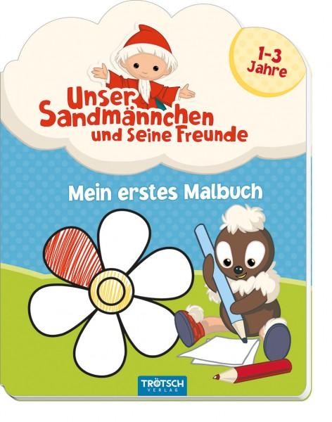 Unser Sandmännchen - Mein erstes Malbuch