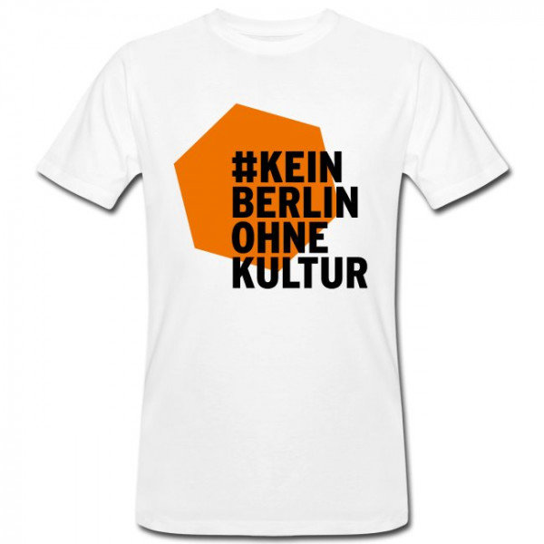 #KeinBerlinohneKultur T-Shirt für Männer