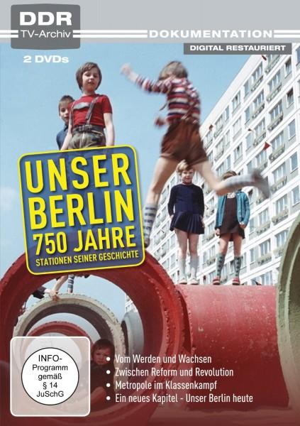 Unser Berlin - 750 Jahre (2er DVD-Box)
