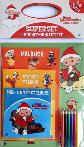 Unser Sandmännchen Malbuch-Set