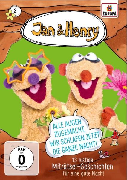 Jan & Henry Vol. 2 - 13 lustige Geschichten für eine gute Nacht (DVD)