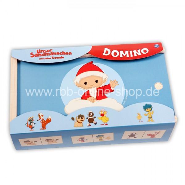 Unser Sandmännchen Holz-Domino-Spiel