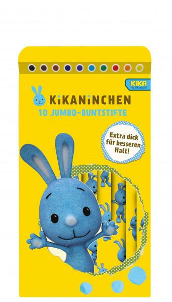 Kikaninchen 10 Jumbo-Buntstifte