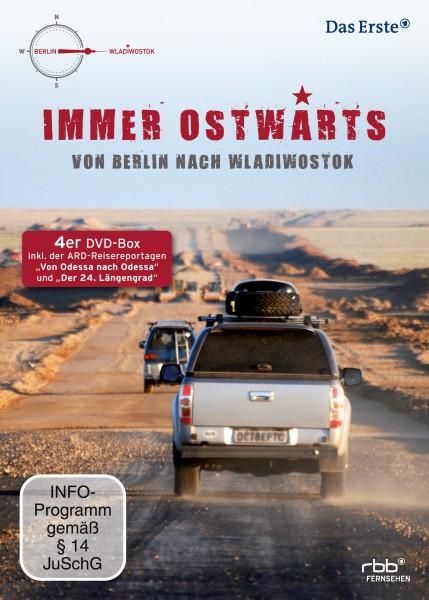Immer ostwärts - Von Berlin nach Wladiwostok (4 DVDs)