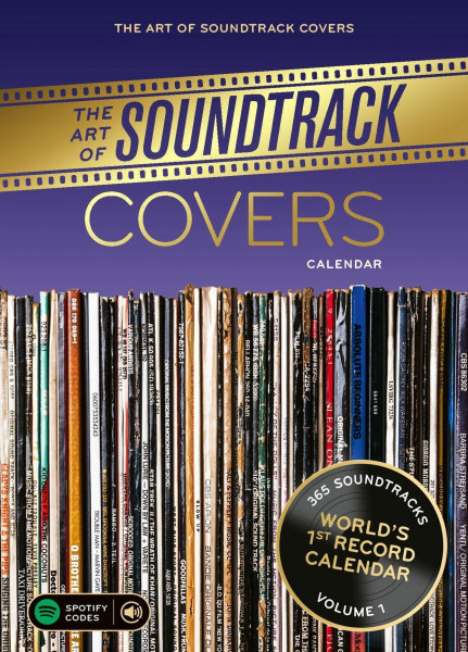Kalender The Art of Soundtrack Covers 2022